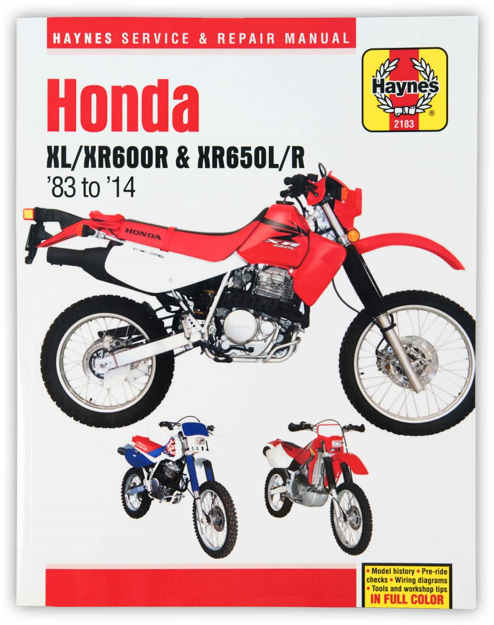 Details about Haynes Manual 2183 HON XL600R & XR600R on