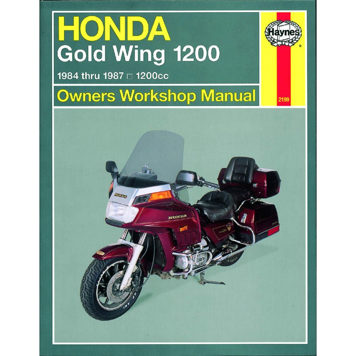 Image is loading Manual-Haynes-for-1986-Honda-GL-1200-AG-