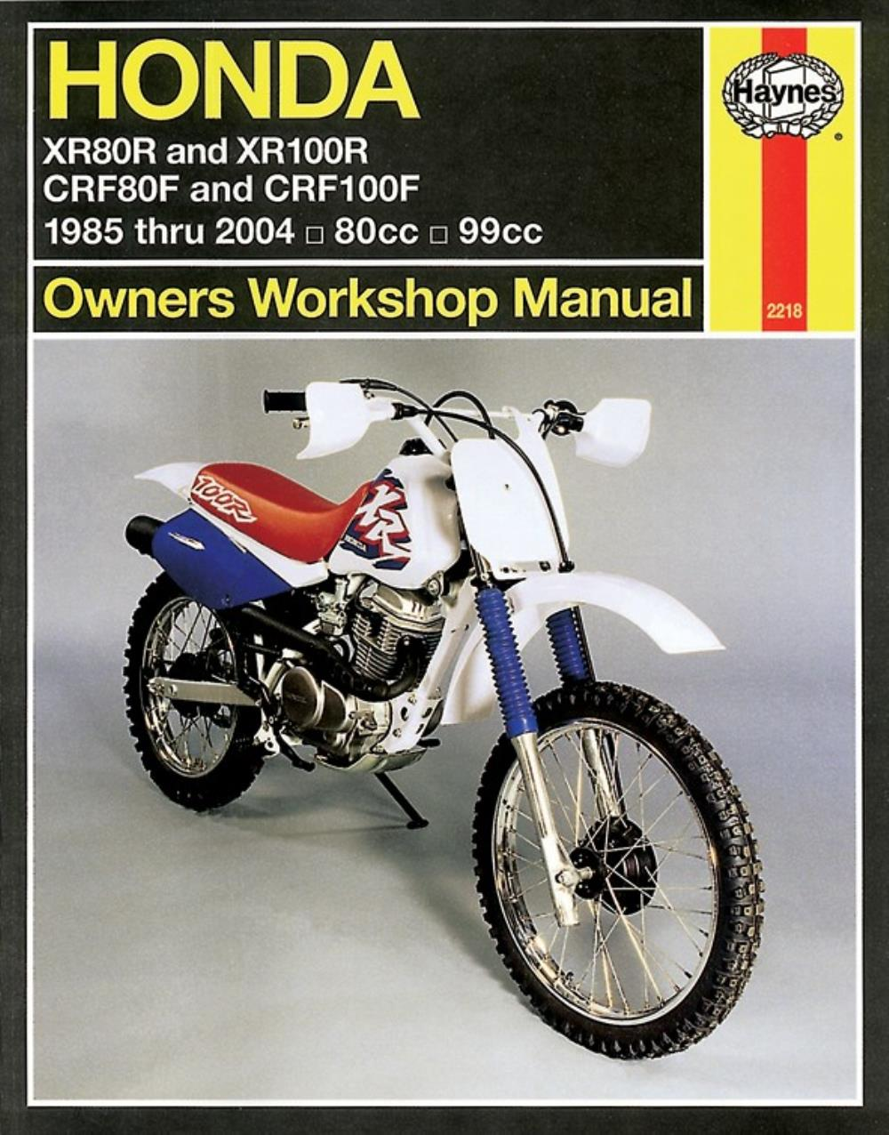 Manual Haynes for 2002 Honda XR 100 R2
