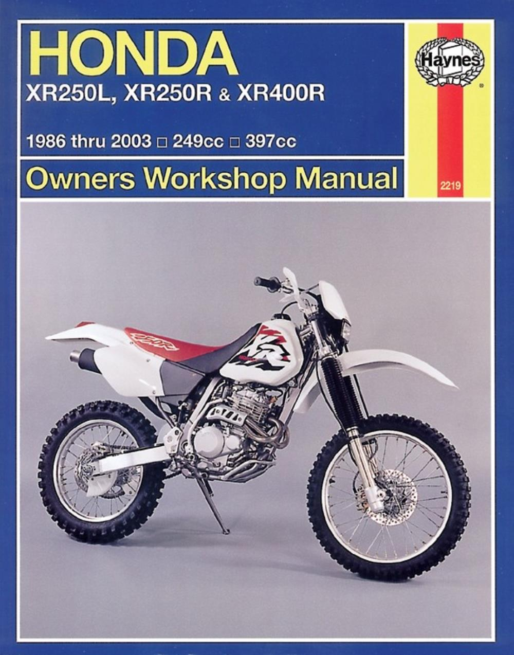 manual haynes for 1996 honda xr 250 rt ebay rh ebay co uk Honda XR 650 manual de taller honda xr 250 tornado pdf gratis