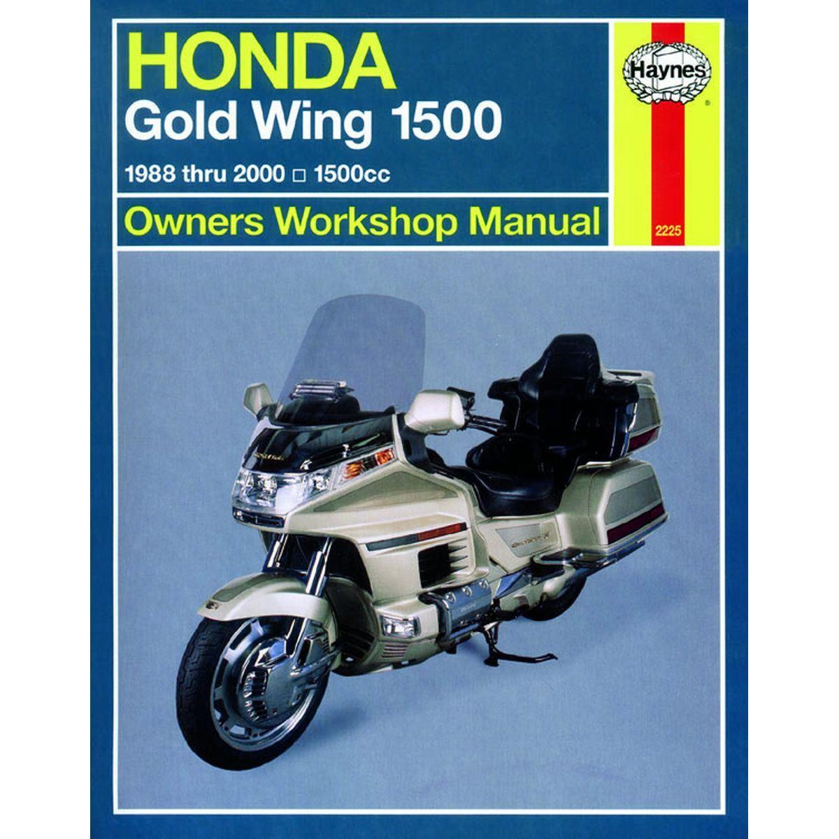 manual haynes for 1996 honda gl 1500 at gold wing aspencade ebay rh ebay co uk GL1200 Aspencade 1985 Honda Goldwing Aspencade