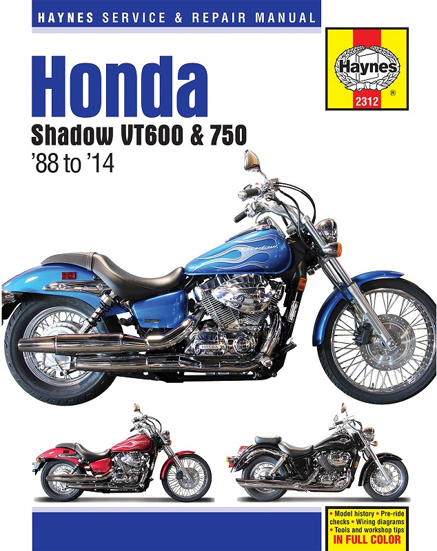 Image is loading Manual-Haynes-for-2007-Honda-VT-750-DC-