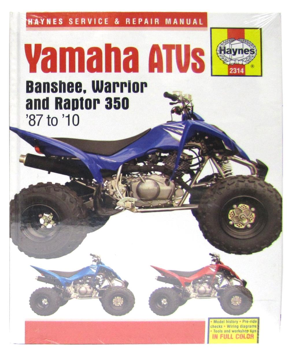 Image is loading Workshop-Manual-Yamaha-YFZ350-Warrior-YFM350X-Banshee-1987-