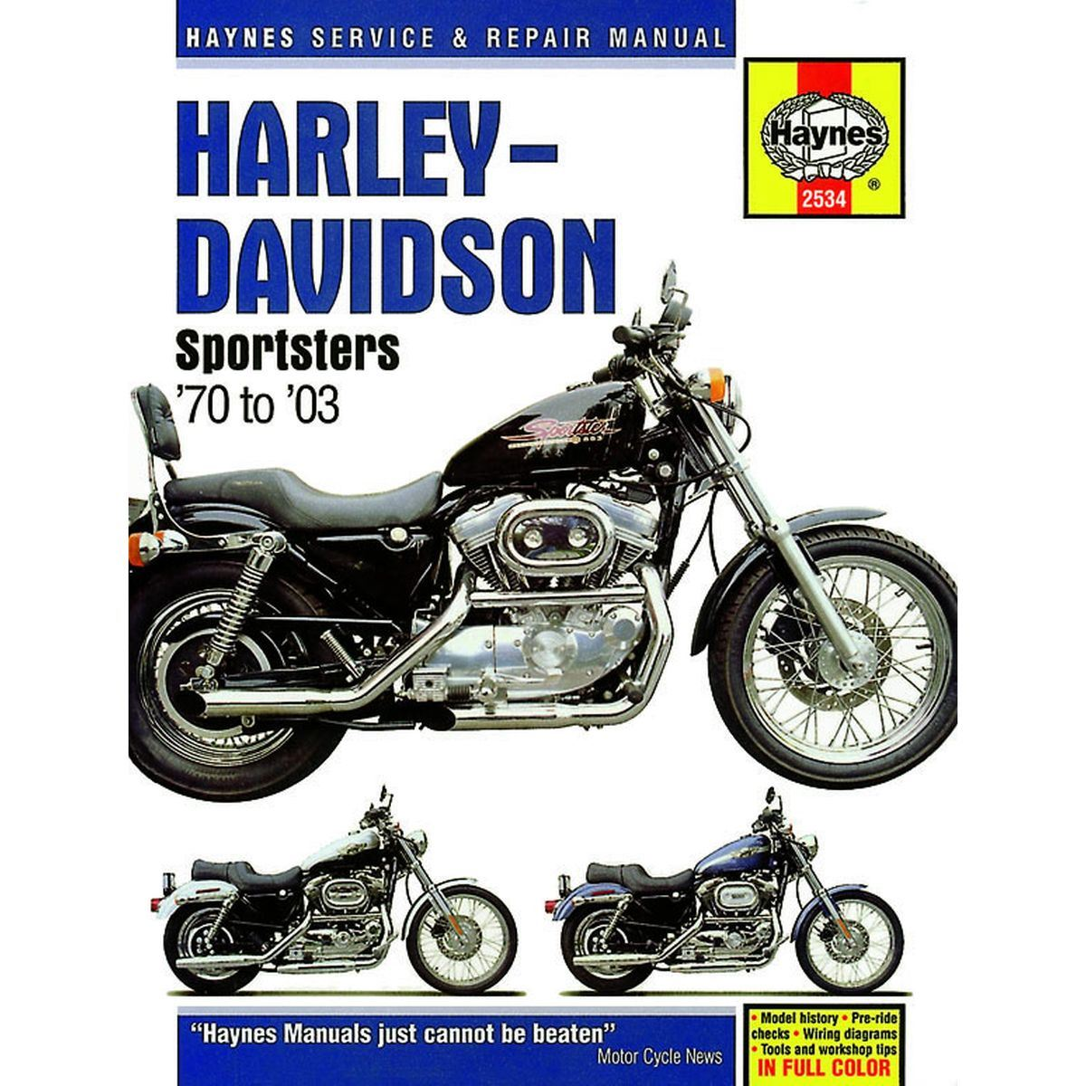 image is loading manual-haynes-for-1999-h-davidson-xl-1200-
