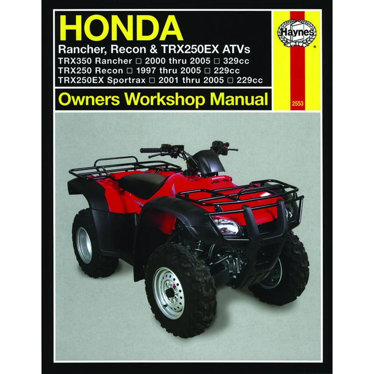 Image is loading Manual-Haynes-for-2003-Honda-TRX-250-TE3-