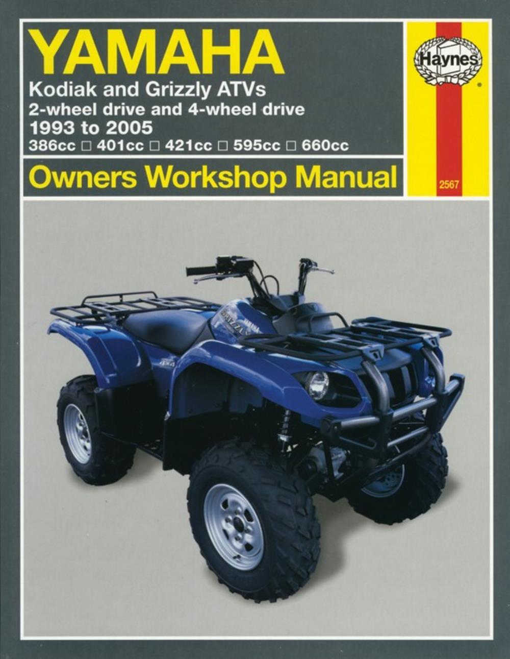yamaha kodiak 400 400 far repair manual