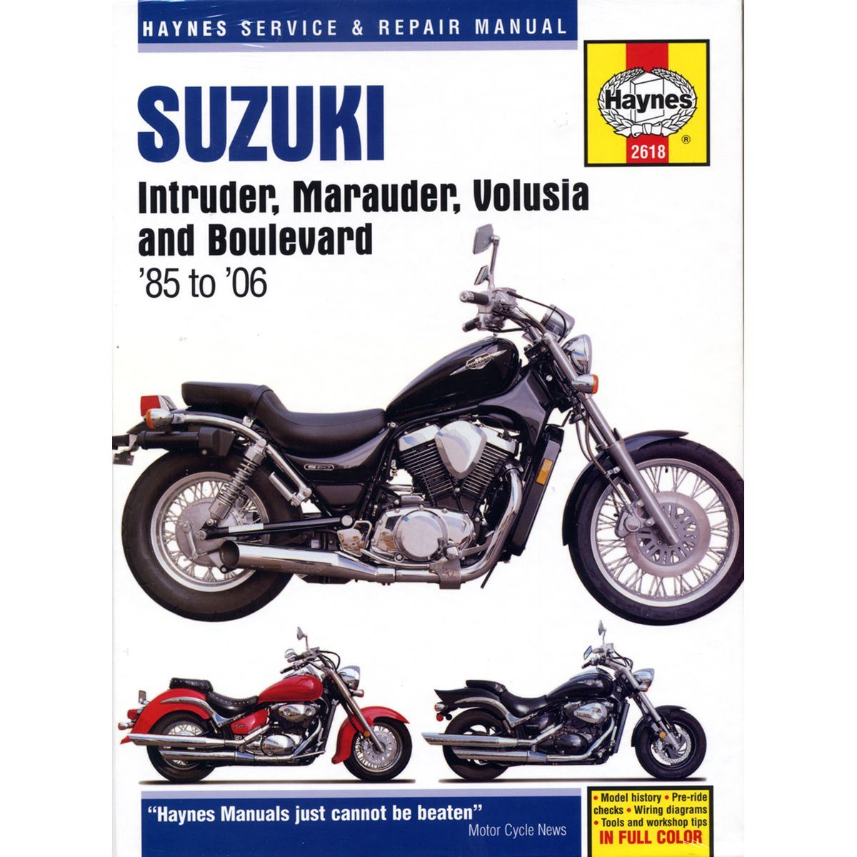 Image is loading Manual-Haynes-for-2002-Suzuki-VL-800-K2-