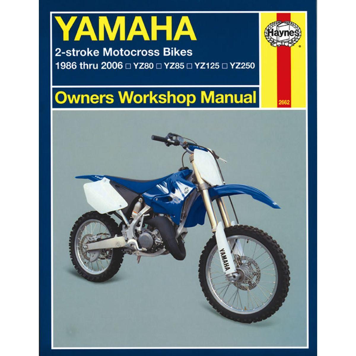 manual haynes for 2001 yamaha yz 125 n 5mv2 2t ebay rh ebay co uk yamaha yz125 owners manual pdf 2000 yamaha yz125 owners manual