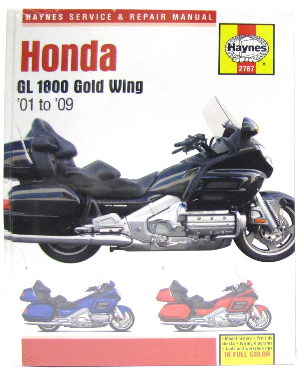 image is loading manual-haynes-for-2008-honda-gl-1800-8-