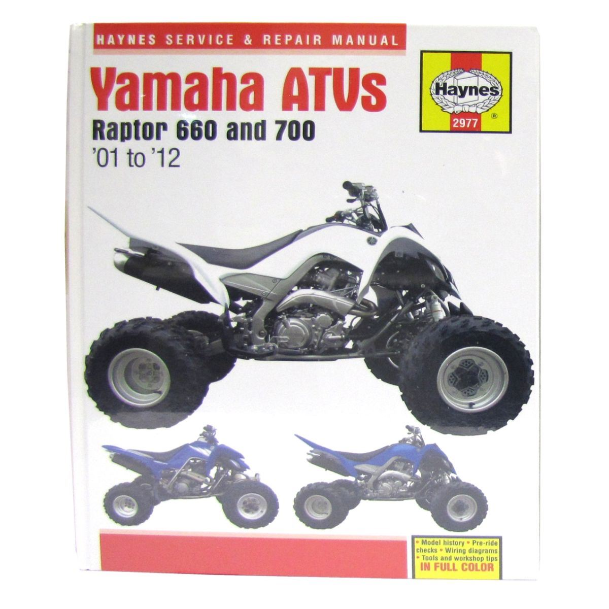 2002 Yamaha Raptor 660 Manual - Enthusiast Wiring Diagrams •