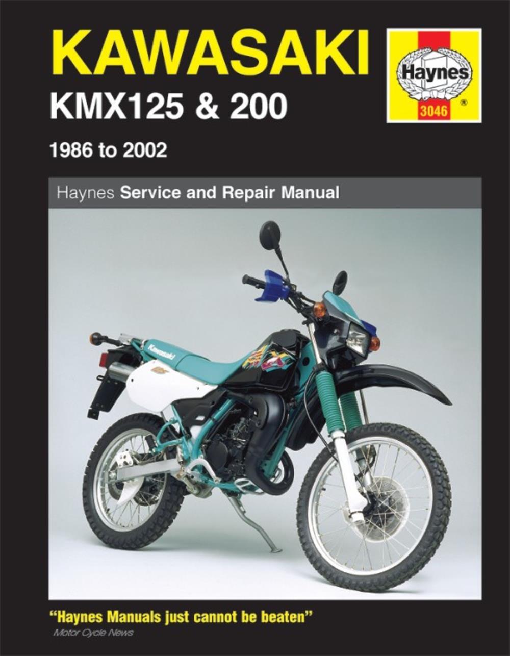 Manual Haynes for 1994 Kawasaki KMX 125 A7