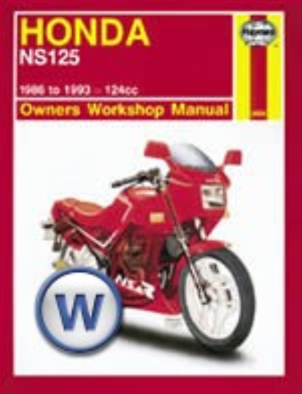 Manual Haynes for 1987 Honda NS 125 FH