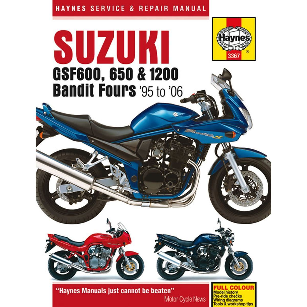 Image is loading Manual-Haynes-for-2001-Suzuki-GSF-600-K1-