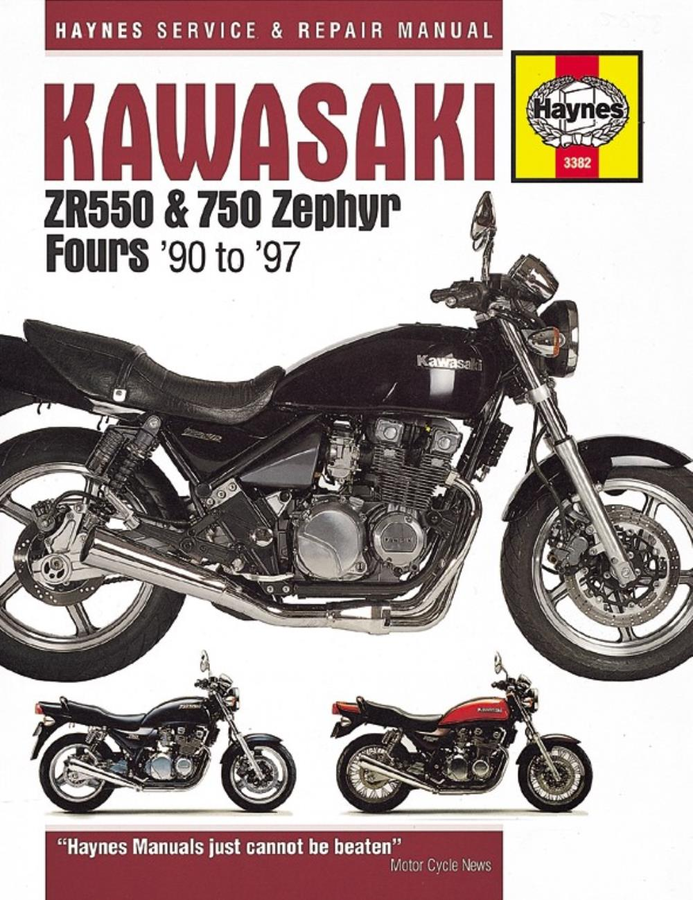 Image is loading Workshop-Manual-Kawasaki-ZR550-Zephyr-ZR750-Zephyr-1990-