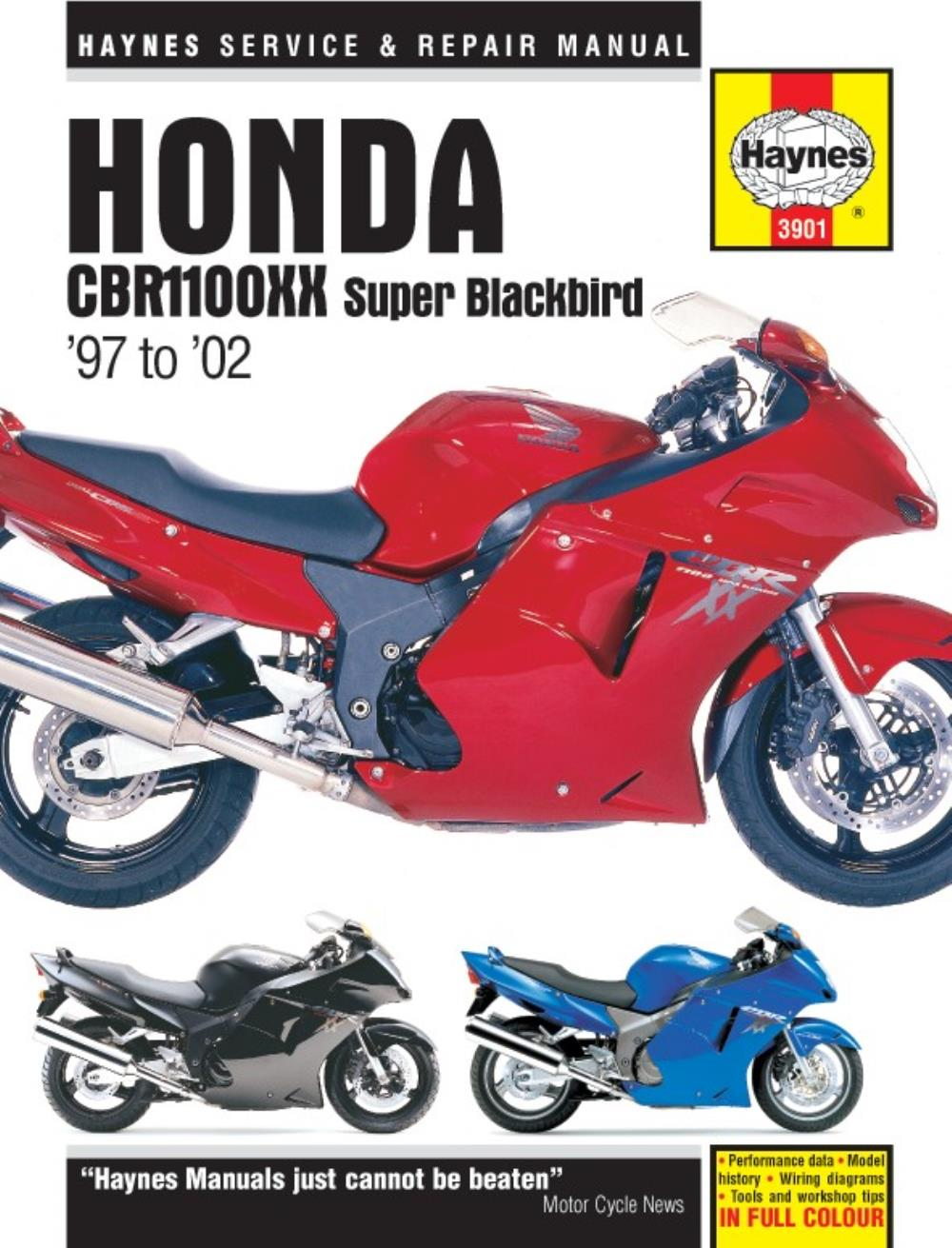 image is loading manual-haynes-for-2002-honda-cbr-1100-xx-