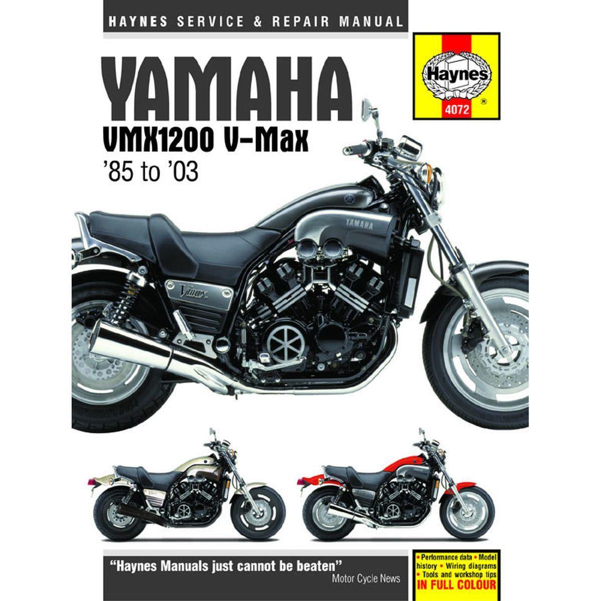 Image is loading Manual-Haynes-for-1996-Yamaha-VMX-1200-V-