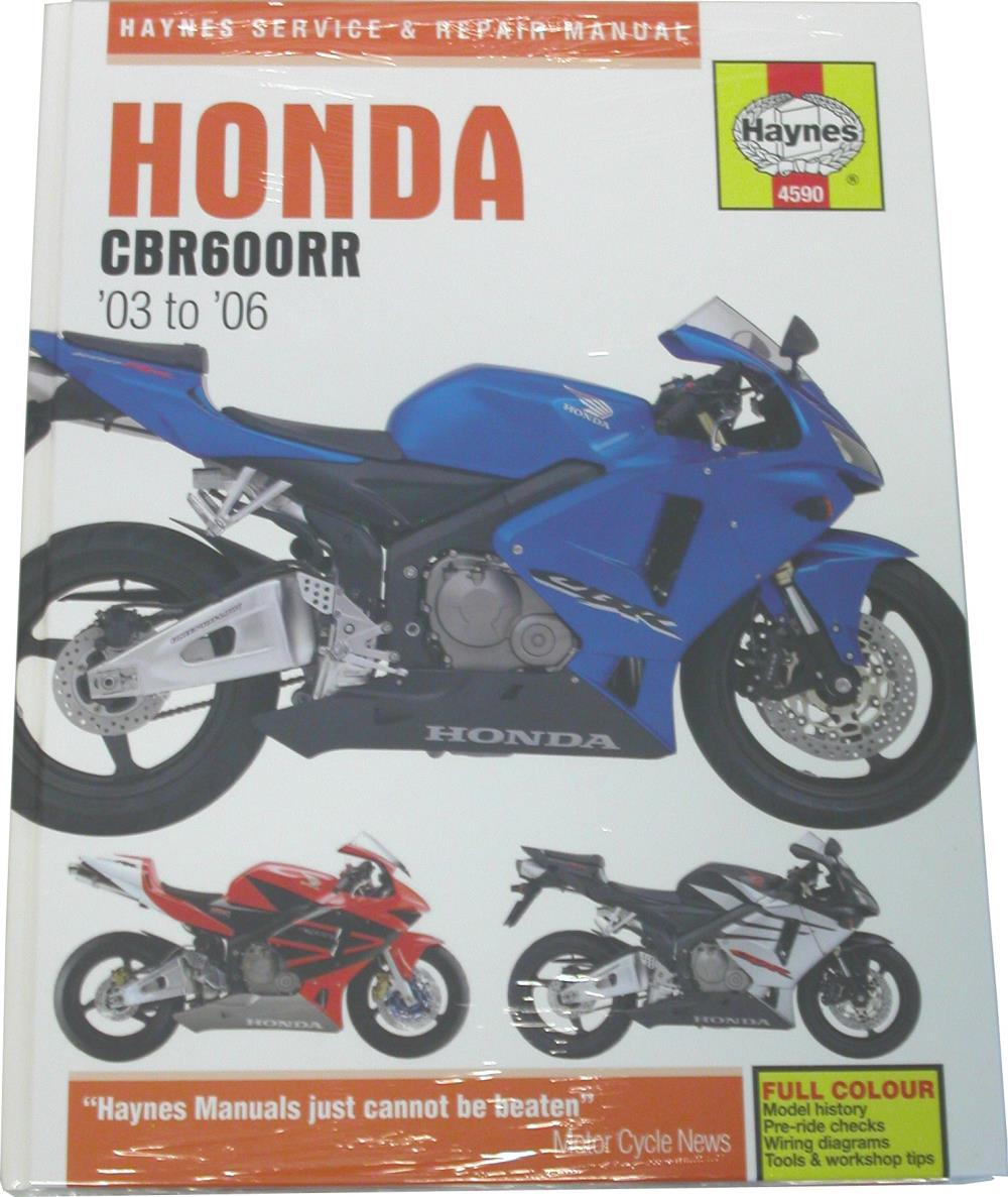 Details About Manual Haynes For 2005 Honda Cbr 600 Rr 5
