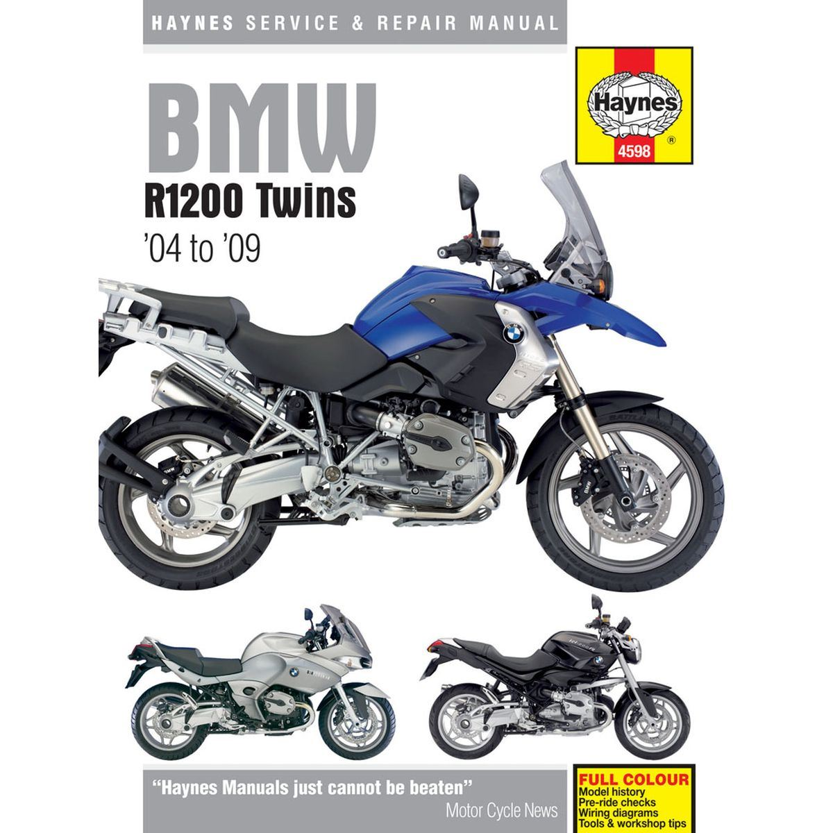 Details About Manual Haynes For 2007 Bmw R 1200 Rt