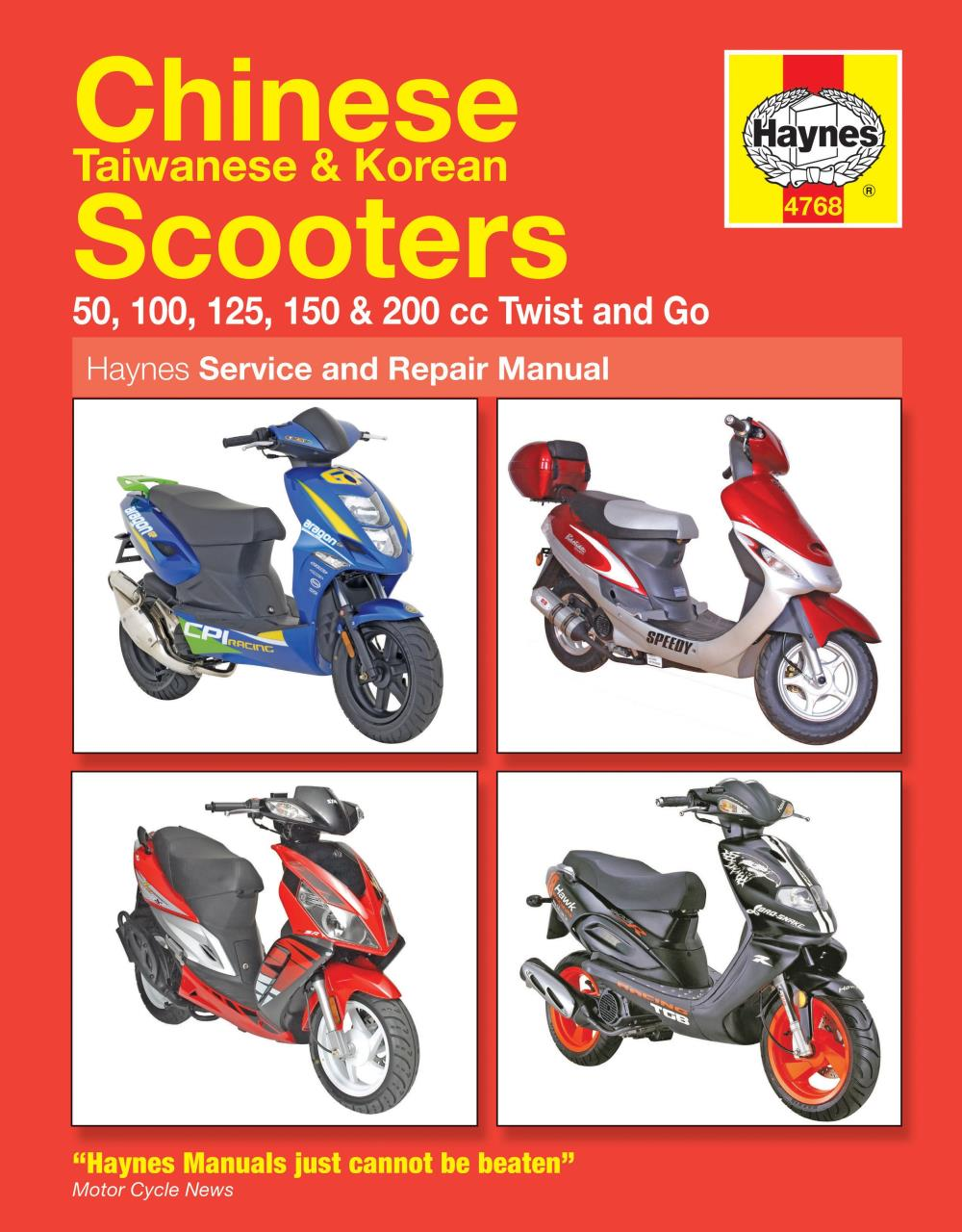 Image is loading Manual-Haynes-for-2010-Kymco-People-S-125-