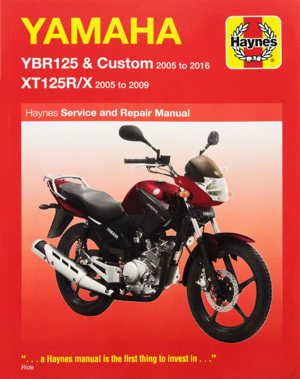 Image is loading Manual-Haynes-for-2010-Yamaha-YBR-125-Custom-