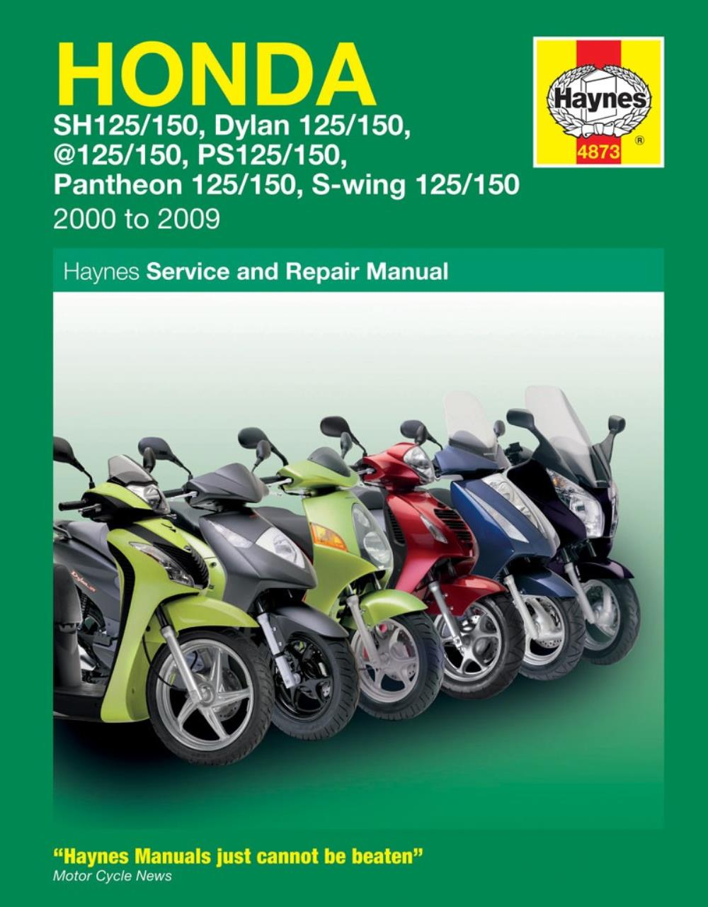 manual haynes for 2008 honda fes 125 silver wing ebay rh ebay co uk 2008 Honda Silver Wing 400 2008 Honda Silver Wing Scooter