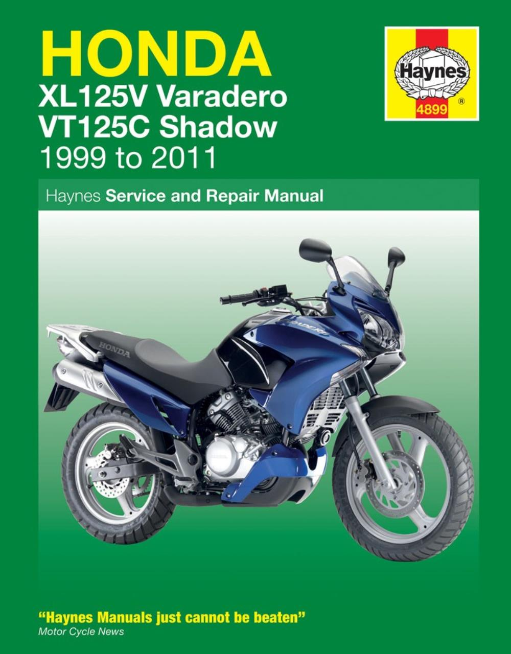 manual haynes for 2009 honda xl 125 v9 varadero ebay rh ebay co uk Honda XL125 Honda NC 750 2018