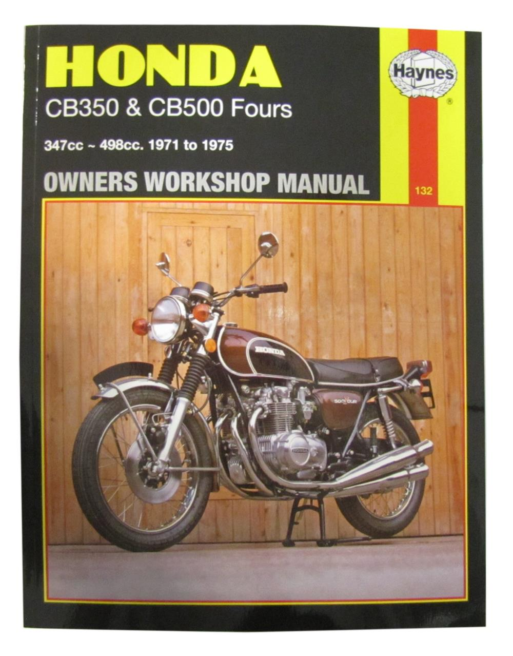 Workshop Manual Honda CB500K1, K2, F 19711973, CB350F 1972-1974