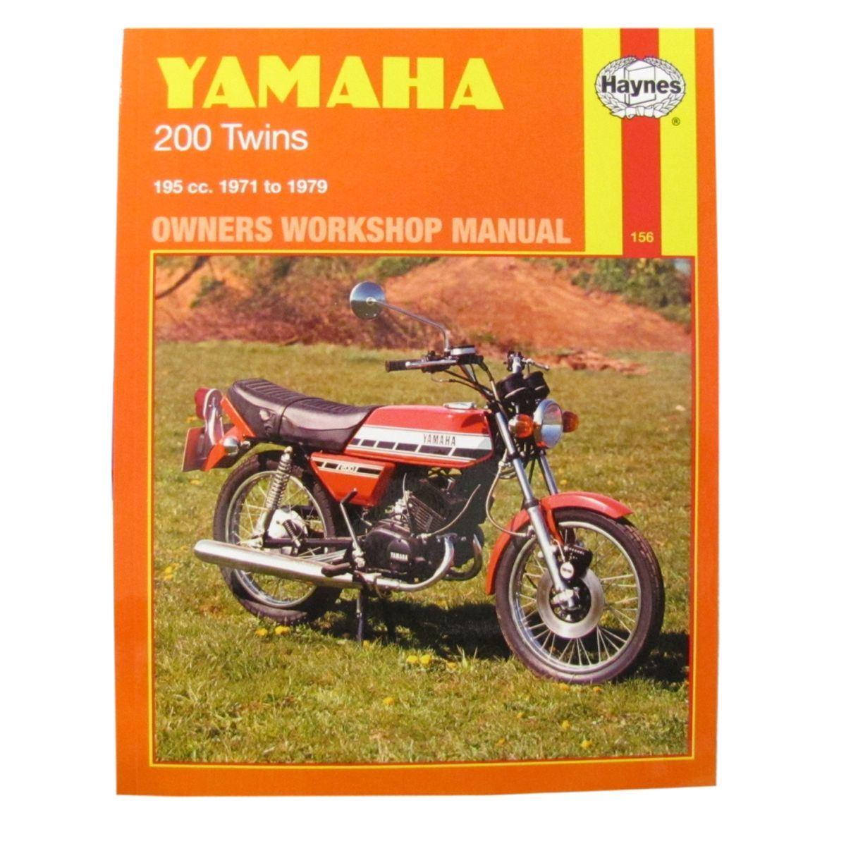 Details about Manual Haynes for 1974 Yamaha RD 200 DX (Spoke Wheel)