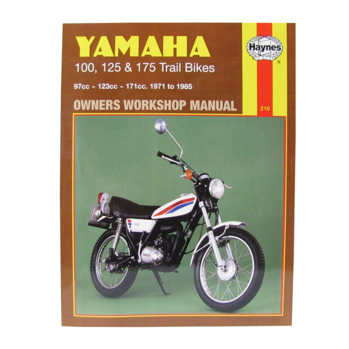 manual haynes for 1978 yamaha dt 125 e single shock ebay rh ebay co uk