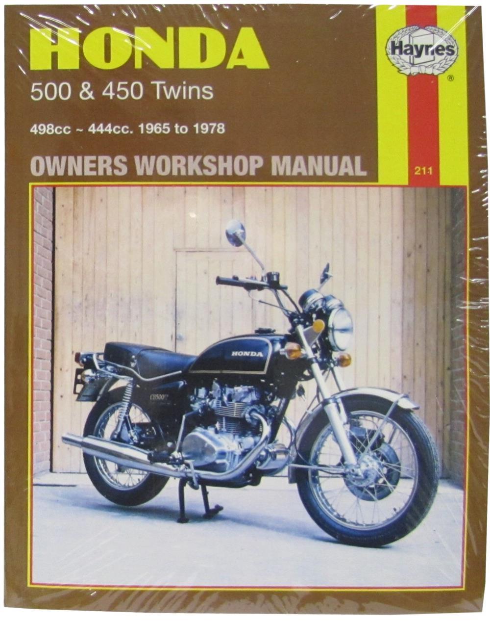 Astonishing Workshop Manual Honda Cb500 450 Twins Ebay Wiring 101 Breceaxxcnl