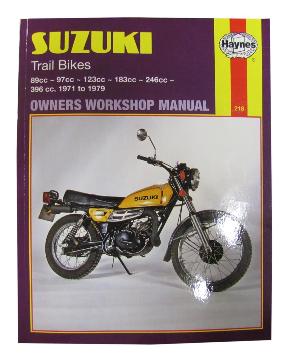 manual haynes for 1973 suzuki ts 125 k ebay rh ebay co uk 1982 Suzuki GS500 1982 Suzuki GS650
