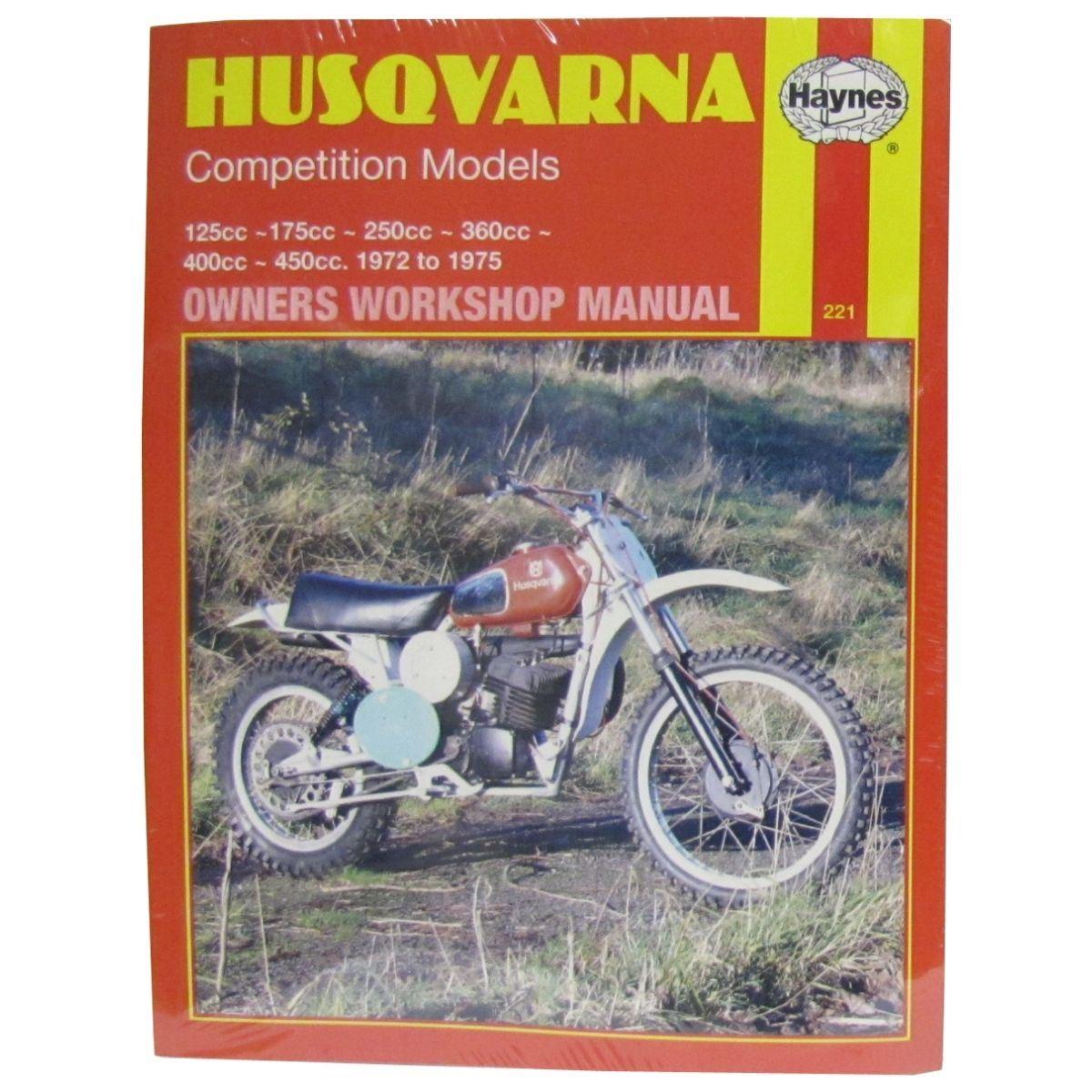 manual haynes for 1972 husqvarna wr 250 ebay rh ebay co uk husqvarna wr 250 workshop manual 2005 husqvarna wr250 manual