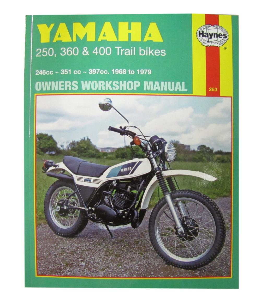 workshop manual yamaha dt250 75 79 rt360 70 73 dt360 dt400 74 77 rh ebay co uk Yamaha DT 400 Yamaha DT 175
