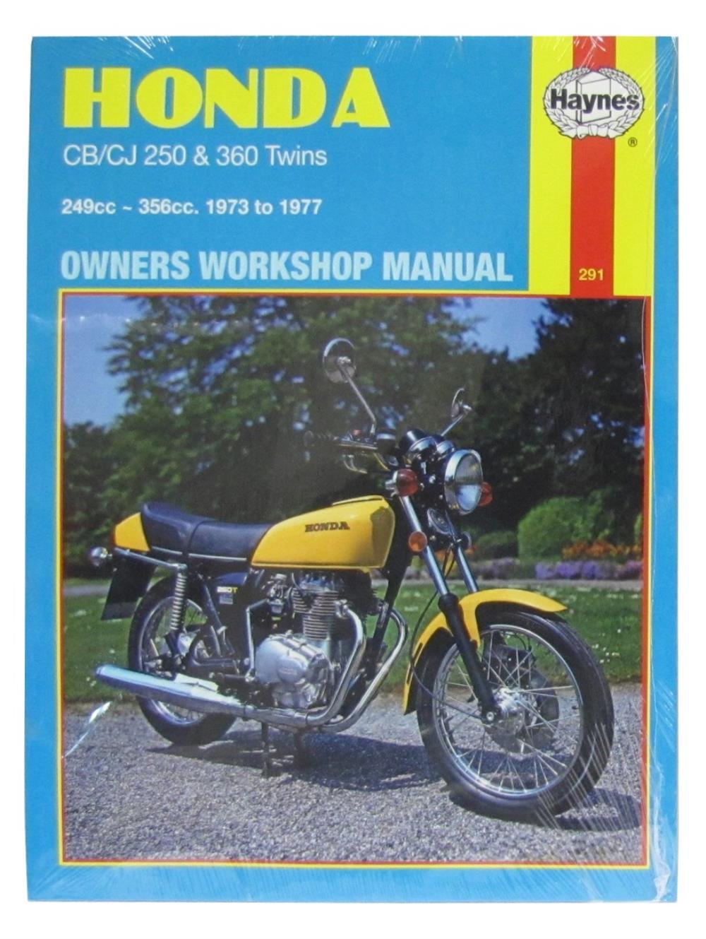 manual haynes for 1974 honda cb 360 g5 ebay