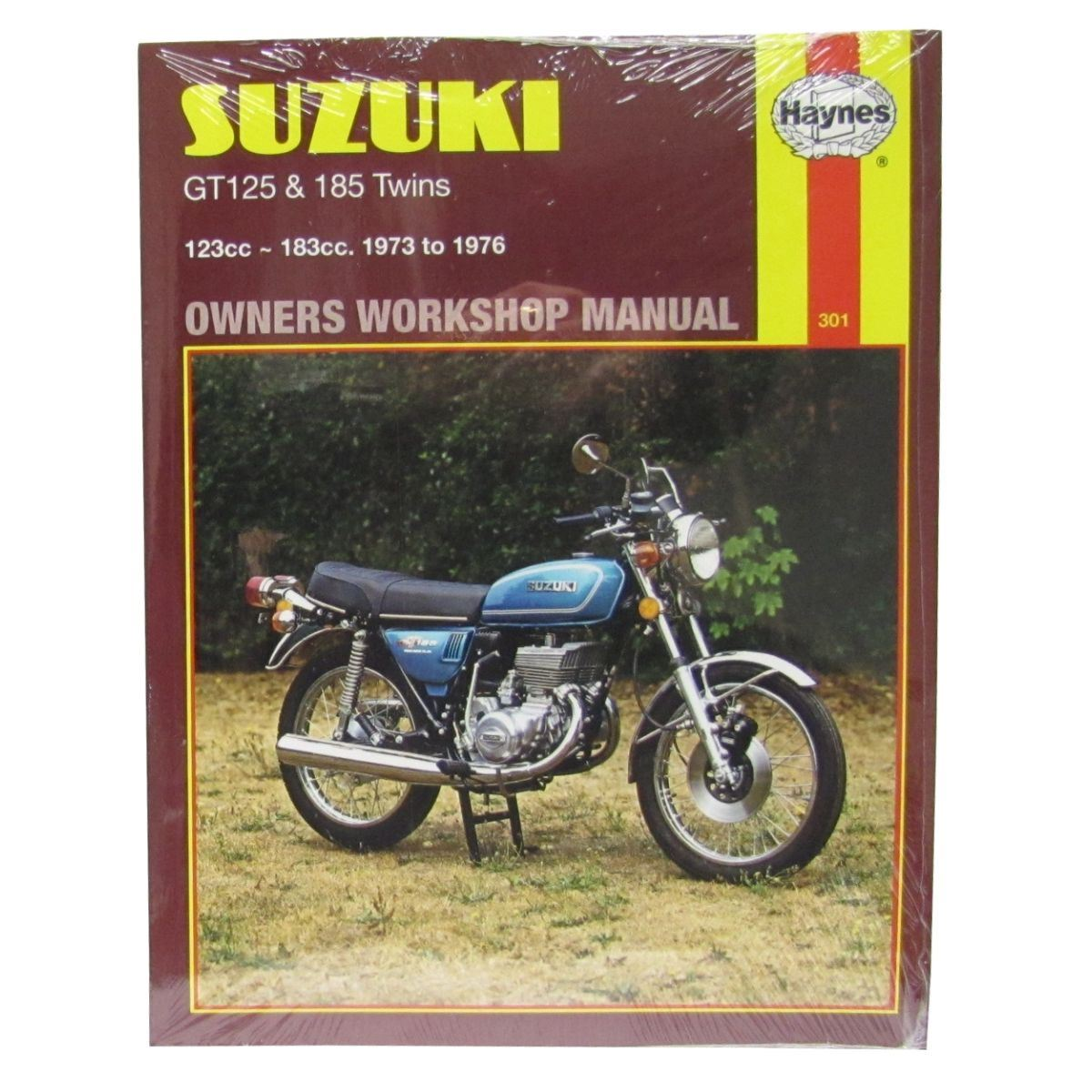 Image is loading Manual-Haynes-for-1973-Suzuki-GT-185-K