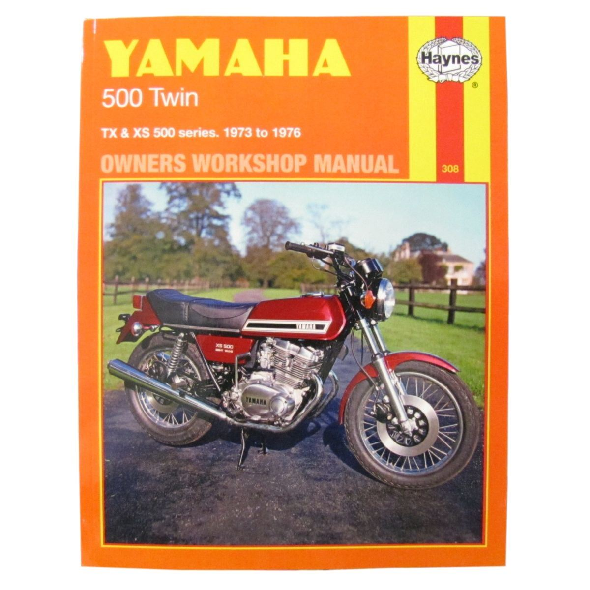 Manual Haynes For 1973 Yamaha Tx 500 Ebay Yb100 Wiring Diagram Image Is Loading