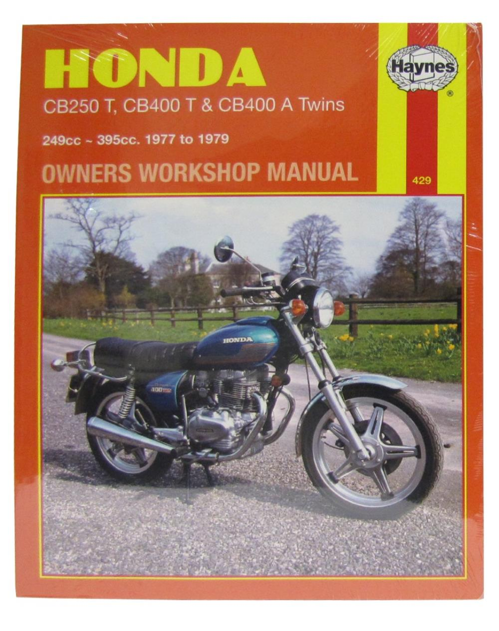 Image is loading Workshop-Manual-Honda-CB250T-CB400T-amp-CB400A-Twin