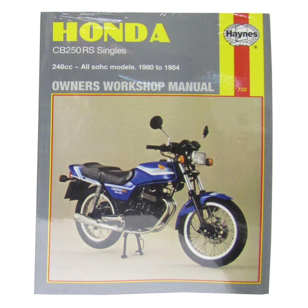 manual haynes for 1980 honda cb 250 rsa ebay rh ebay co uk Honda Goldwing Motorcycle Repair Diagrams Honda Motorcycle Repair Shop