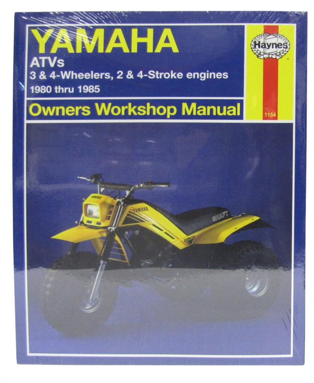 85 86 yamaha yfm200 moto 4 atv service repair manual pdf.