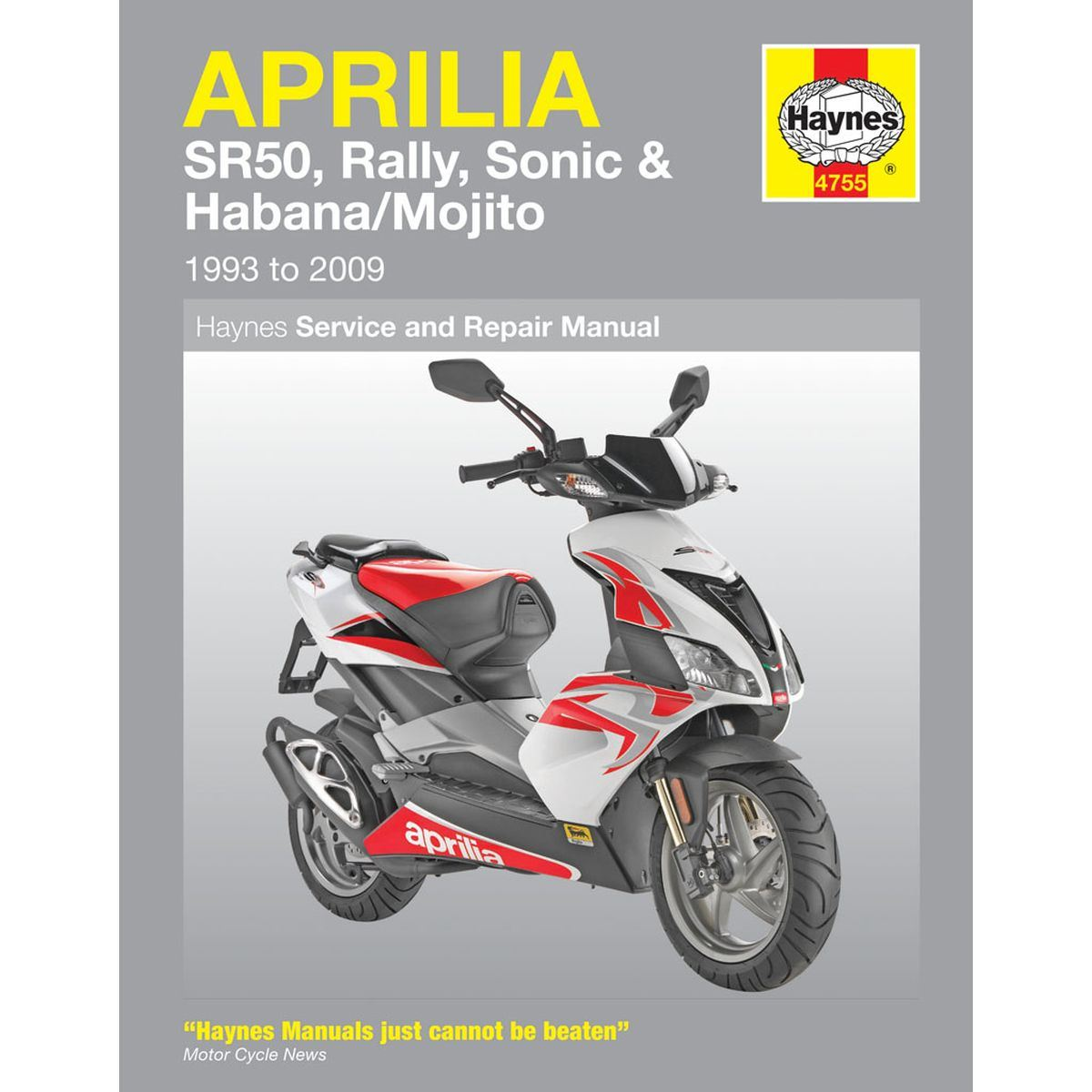 Manual Haynes for 2002 Aprilia Habana Retro 50