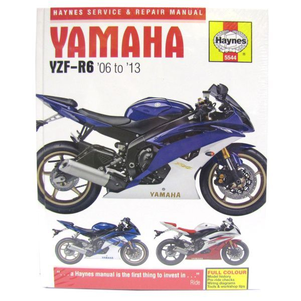 manual haynes for 2012 yamaha yzf r6 ebay rh ebay co uk 2015 Yamaha R6 2008 Yamaha R6