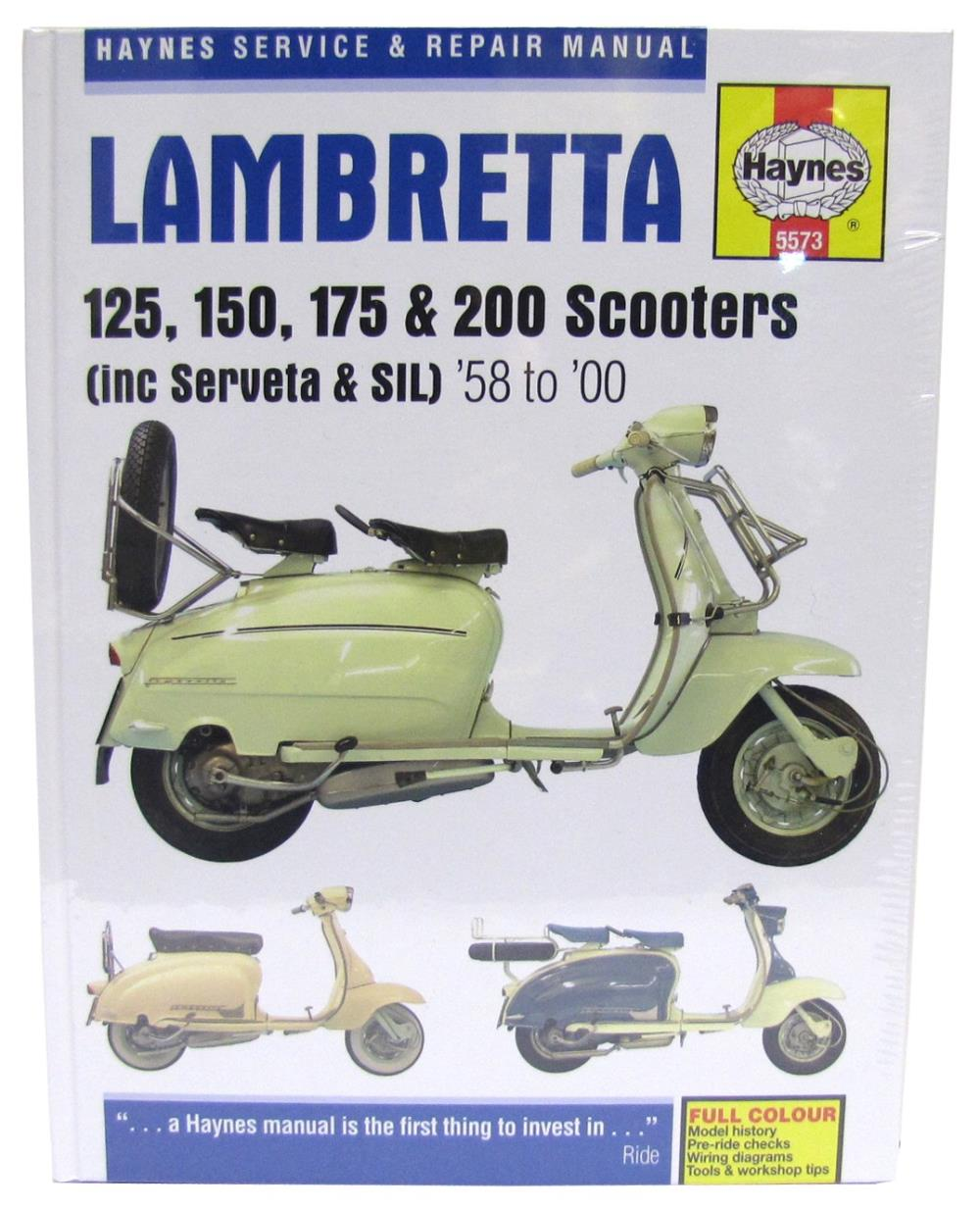 Image is loading Manual-Haynes-for-1961-Lambretta-LI-125-Series-