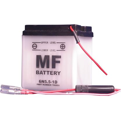 Picture of Battery (Conventional) for 1948 BSA Bantam D1 (123cc) NO ACID