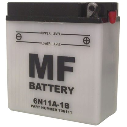 Picture of Battery (Conventional) for 1947 Triumph 6T Thunderbird (649cc) NO ACID