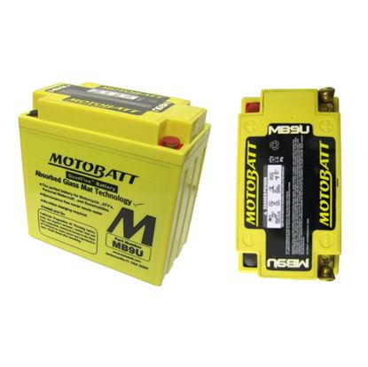 Picture of Battery (Motobatt) for 1950 BSA A7 (497cc)
