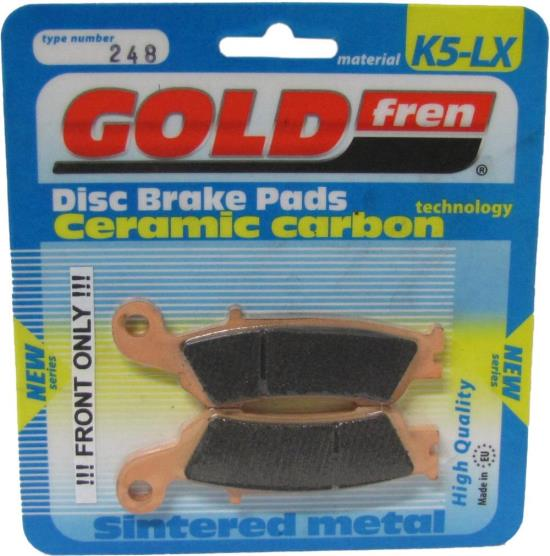 Picture of Goldfren K5-LX248, FA450 Disc Pads (Pair)