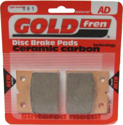 Picture of Brake Disc Pads Front L/H Goldfren for 1973 Moto Guzzi 850 T