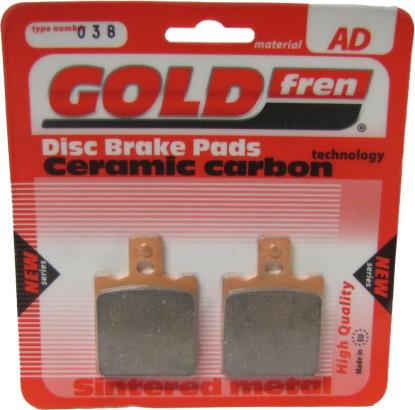 Picture of Brake Disc Pads Front L/H Goldfren for 1975 Ducati Desmo GTL/S