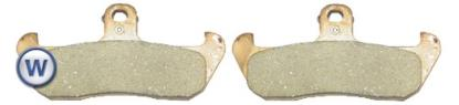 Picture of Goldfren AD006, VD929, VD942, FA134, FDB499, SBS608 Disc Pads (Pair)