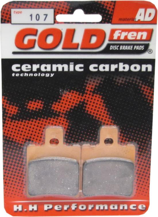 Picture of Goldfren AD107, VD256, VD923, FA206, FDB889, SBS668 Disc Pads (Pair)